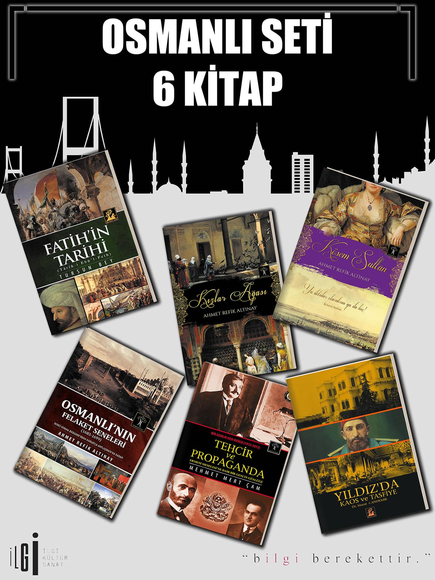Osmanlı Seti 6 Kitap