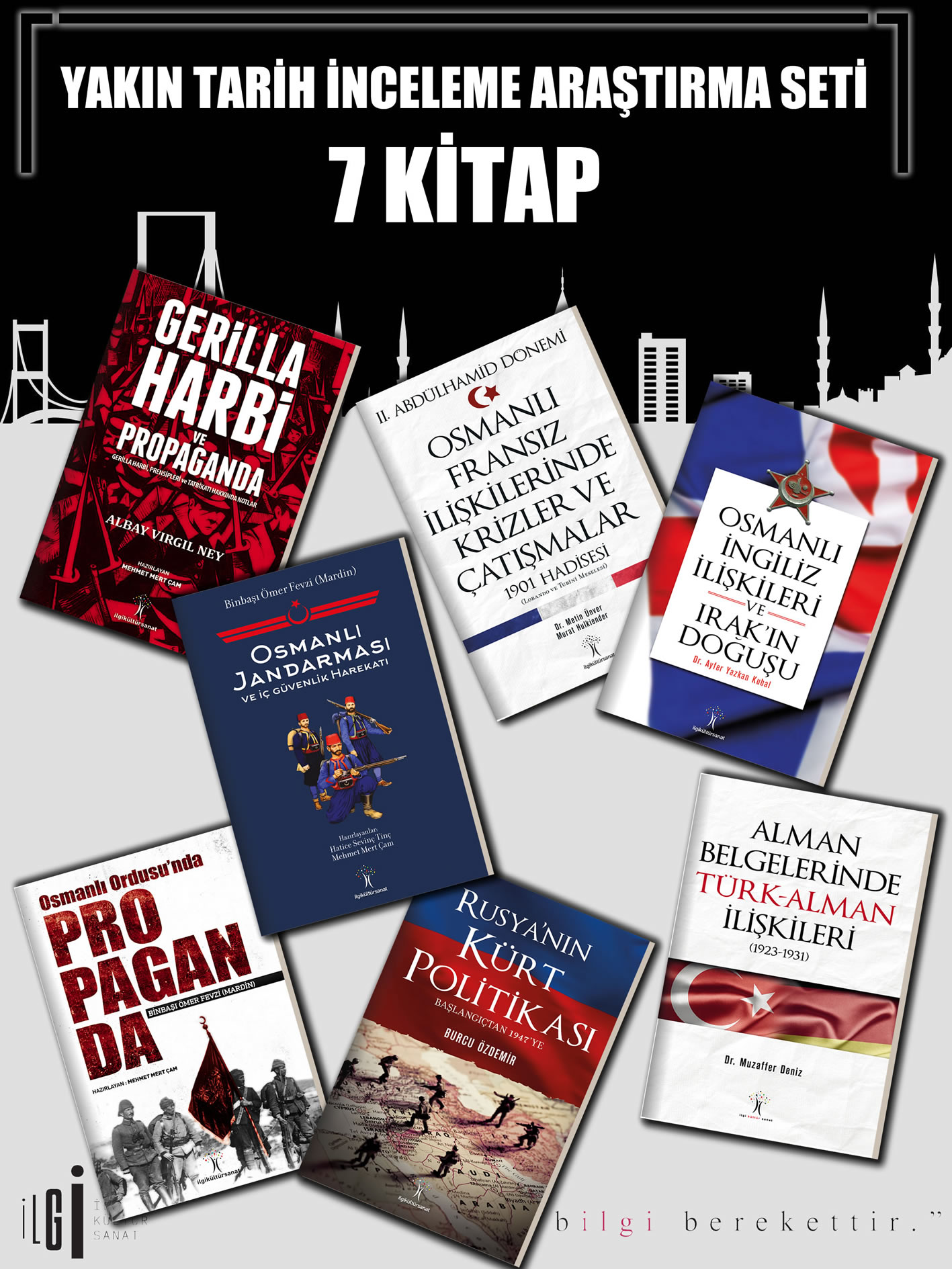 Yakın Tarih İnceleme Araştırma Seti 7 Kitap