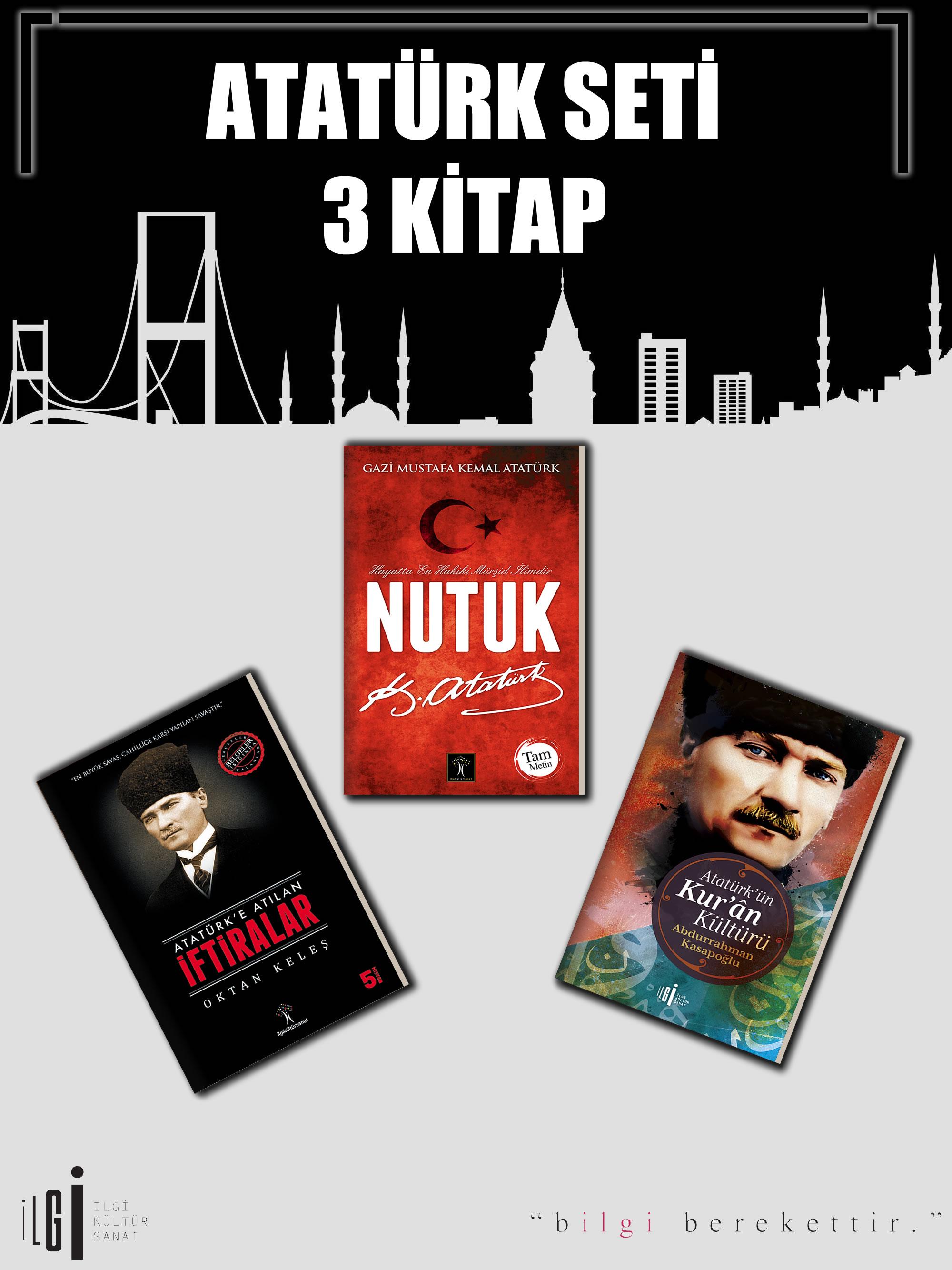 Atatürk Seti 3 Kitap